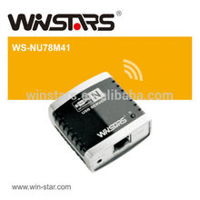 Networking USB 2.0 print Server M4,wireless USB Multi-Function Printer server