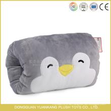 Plüsch Pinguin Tier Kissen gefüllte weiche Handwärmer