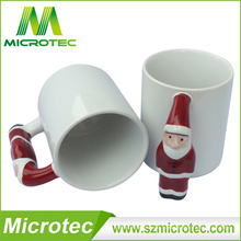 Beliebtester Sublimations-Keramik-Becher für Weihnachtssublimations-Becher