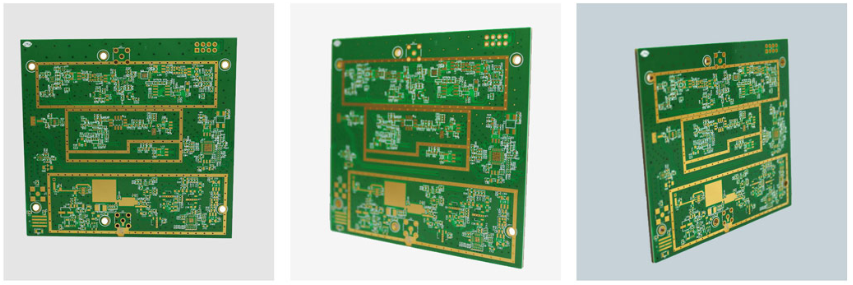 6-layer Rogers + FR4 Mixed Medium High Frequency Printed Circuit Board