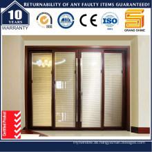 Doppelverglasung Außenglas Aluminium / Aluminium Schiebetür