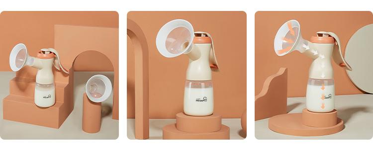 Phanpy Yiqing Mother Tire-lait manuel de haute qualité Prix du tire-lait manuel pour la vente directe