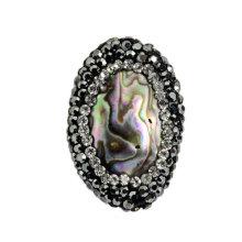 Moda Abalona Concha Cristal De Perlas Joyas Accesorio Bijoux Pulsera