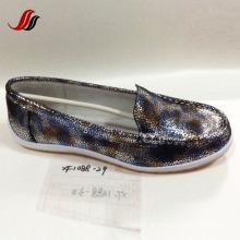 Lates sapatos de couro de lazer feminino sapatos de couro casual (fs004)