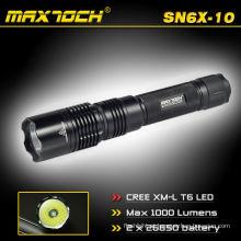 Maxtoch SN6X-10 1000 Lumens lanterna de longo alcance tocha 18650