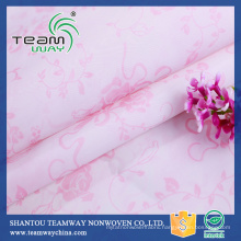 Hot Sale 100% Polyester sateen for bedding fabric