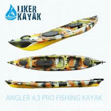 4.3m Único PE Rotomould caiaque Pescador Angler 4.3 PRO caiaque de pesca