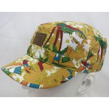 Fashion Flowery Sports Military Cap Woven Cap (MH-080065)
