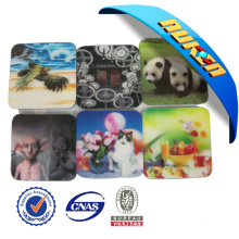 New Design Promotional Lenticular Tea Coaster