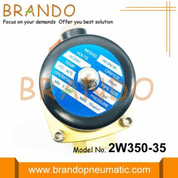 Messing Body Waterbehandeling Solenoid Water VAlve 2W350-35