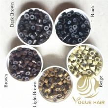 Mikroring-Silikonperlen für Haarverlängerungen