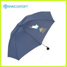 Großhandelsfördernder tragbarer faltender Regenschirm