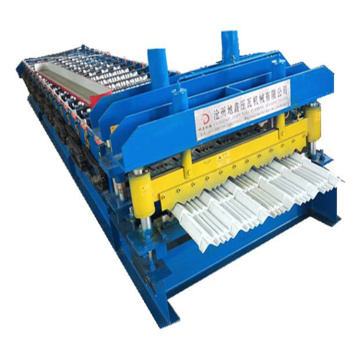 Rolling Performance Roll Glazed Roll Forming Machine