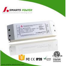 plastic cover 110v ac 12v dc 30w DALI dimming led driver for led strip light
