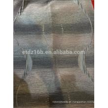 New chegou 100% poliéster gradiente rampa design Jacquard cortina tecido