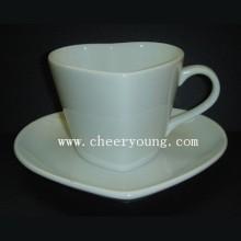 Keramik-Tasse und Untertasse (CY-P520)