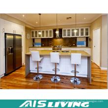 Armarios de cocina de precio de fábrica con manijas para el apartamento (AIS-K376)
