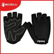 Boodun Racing Black Gimnasio de Escalada Fingerless Guantes de Ciclismo