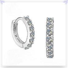 Cristal pendiente accesorios de moda 925 joyas de plata esterlina (se039)