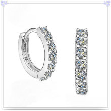 Crystal Earring Fashion Accessories 925 Sterling Silver Jewelry (SE039)