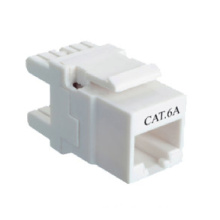 Competitive Unshielded CAT6A Keystone