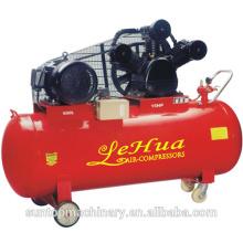 Compressor de ar de pistão vermelho grande tanque 500L protable