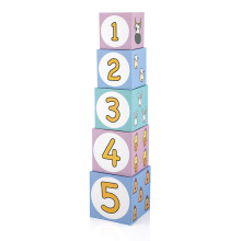 Wholesale Custom Children Educational Toy  Paper cardboard Building Block