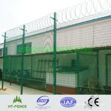 PVC revestido cerca de segurança do aeroporto (HT-P-009)