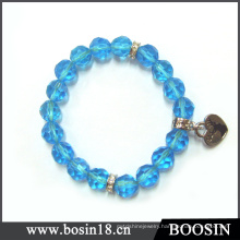 Blue Acrylic Bead Bracelet China Wholesale #31014