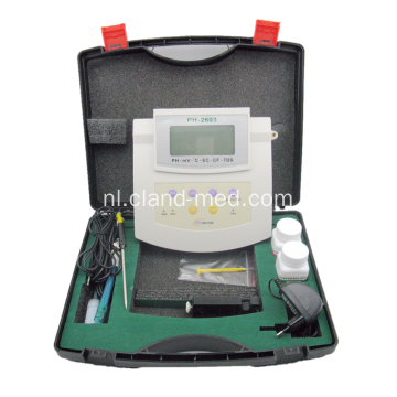 Resrarch Multifunctionele bank PH meter