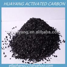 Carvão de carbono ativado granular de porca 4X8 para purificação de gás