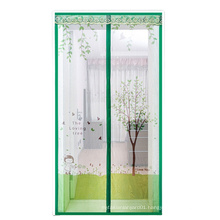 Magnetic fly screen  with Heavy Duty Mesh Curtain for Keep Fly Bug Out magnetic screen door