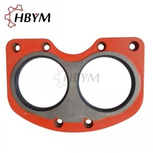 IHI Concrete Pump Tungsten Carbide Wear Spectacle Plate