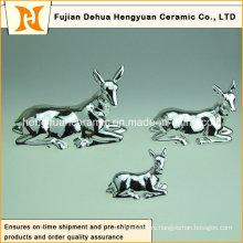 Sika Deer Ceramic Money Bank для рождественского подарка для детей