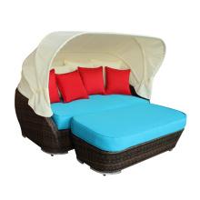 Открытый ротанга новой модели диван-кровать стул