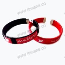 Pulseira barata promocional do cabo da forma, bracelete religioso