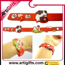 Customized pretty pvc child wrist band
