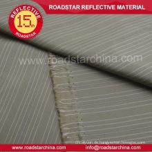 Hochsichtbare reflektierende Polyestergewebe für Kleidung