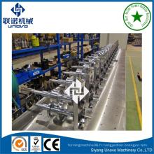 Machine de fabrication de tuyau ovales en métal siyang unovo