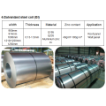 Stahlmaterial verzinkte Spule Lieferzeit 15 Tage