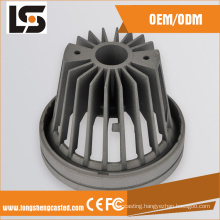 10W COB Grey Color Aluminum Dimmable Warm LED Downlight Housing