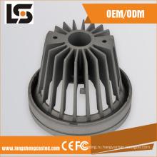 Удар 10W серый цвет алюминия dimmable теплый светодиодной лампы