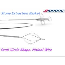 ERCP Nitinol Stein Retrieval Korb mit FDA für die USA
