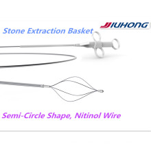 Cesta de piedra recuperación de ERCP Nitinol con la FDA de Estados Unidos