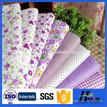 Impresso 100% melhor qualidade tecido de algodão do fornecedor China