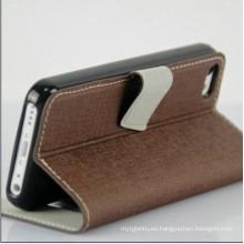 Teléfono móvil Funda para el iPhone 5c estuche de cuero OEM para iPhone 5c