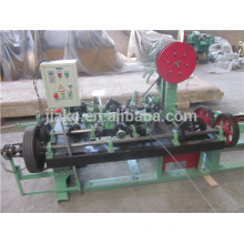 Factory hot sale full automatic barbed wire making machine