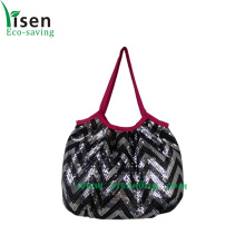 Fashion Paillette Ladies Handbag (YSHB04-001)