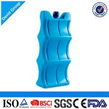 Caja de hielo reutilizable y ladrillo fresco de la fábrica de China