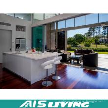 Apertura de muebles de armario de cocina para Villa (AIS-K409)